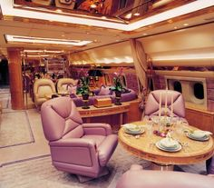Travel first class. Luxury Jets, Luxury Private Jets, Private Plane, Plane Ticket Prices, Airplane Interior, Private Jet Interior, Private Flights, Aircraft Interiors, Luxe Life
