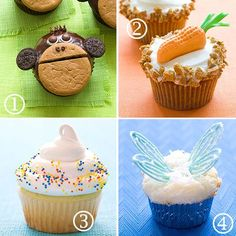 Fun Cupcake Ideas for a Kid's Birthday Party - All Things For All Parties