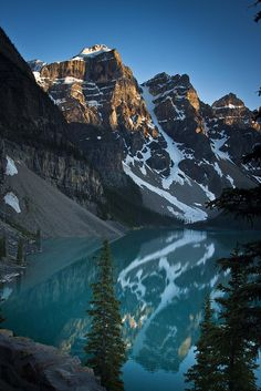 Moraine Lake - Banff National Park - 7-06-12  05 by Tucapel, via Flickr