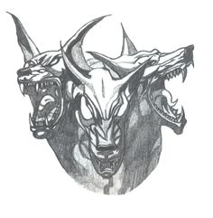 the 53 best hellhound tattoo drawings images on pinterest tattoo drawings 10 years and block. Black Bedroom Furniture Sets. Home Design Ideas