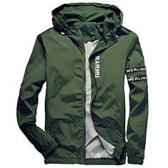 c4769da4be5 Homaok Men s Lightweight Breathable Jacket at Amazon Men s Clothing store   Jordan ShortsRain ...