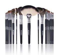 SHANY NY Collection 22PC Pro Brush Set with Orange Case  Pony and Goat Bristles * Read more  at the image link.