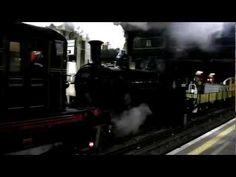 Steam Train on the London Underground - Video - Test Run for 150th Birthday Celebrations