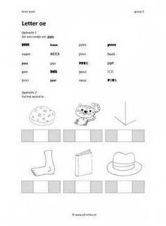 Leren lezen Letter oe 2