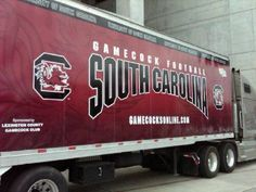 University of South Carolina Gamecocks - transport for football equipment to away games