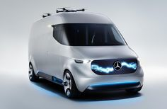 Mercedes-Benz Vans exhibits for the first time at this year's CES in Las Vegas as its Vision Van gives a taste of a robotic future