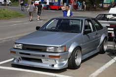 CBY Flared AE86 Coupe..