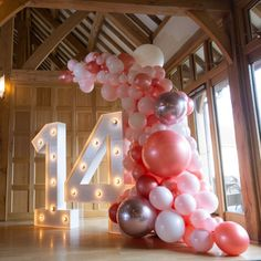 Sweet 16 Party Decorations, Birthday Balloon Decorations, Birthday Balloons, 14th Birthday Party Ideas, Happy Birthday Me, Birthday Parties, Birthday Girl Quotes, Girl Birthday, 13th Birthday
