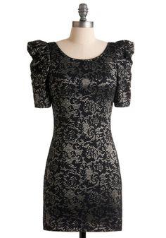 Shadow Art Dress, #ModCloth