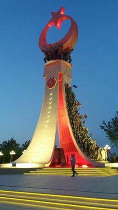 Fotoğraflayan kızım hilal World's Most Beautiful, Beautiful Places To Visit, Antalya, Turkey Flag, Turkish Army, Istanbul Travel, Islamic Art, Monuments, Chop Saw