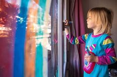 We decorated a window with a rainbow today inspired by all the rainbows Ive seen on social media. Apparently the idea started in Italy a way for kids to connect with each other while play dates are put on hold for the time being. Families in the US UK and others have joined and so have we here in  Have you seen any rainbows in your neighborhood?#coronacronicals #inlovewithzug #aussieinswitzerland