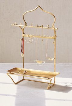 Urban Outfitters Trigem Tabletop Jewelry Stand She can keep her