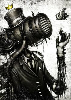 From the latest work of Japanese artist Shingo Matsunuma (aka shichigoro), is created in photoshop.