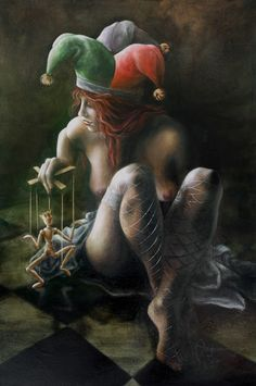 """""""The Fool"""" by Autumn Skye Morrison http://www.autumnskyemorrison.com/paintings/the-fool.html"""