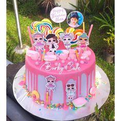 Funny Birthday Cakes, Birthday Cake Girls, 7th Birthday, Lol, Girl Cakes, Pictures, Happy, Desserts, Kids
