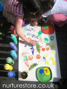 Lots of fun summer crafts and activities for kids from naturestore.co