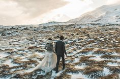 Nick and Sarah Buðir Church Elopement in Iceland