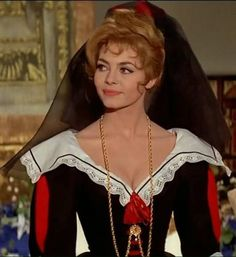 Angelique fassion from teh movie - Pretty as well in a landlady black-red fassion.