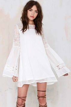 Mayaguez Lace Shift Dress