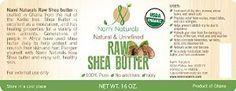 USDA organic raw shea butter http://amzn.to/1JZqQBn