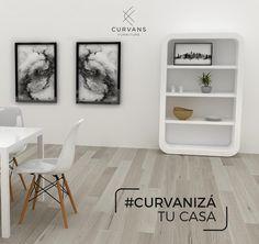 Curvanizá todos los ambientes de tu hogar. Revisá nuestro catálogo completo en www.curvans.com y encarganos el que más te guste. #CurvanizáTuCasa #Muebles #Diseño
