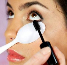 ideas makeup tips eyelashes how to apply 37 + Ideen Make-up Tipps Wimpern, wie man sich be How To Apply Mascara, How To Apply Makeup, Applying Mascara, Applying Eyeshadow, Mua Eyeshadow, Makeup Tricks, Beauty Kit, Beauty Hacks, Beauty Care