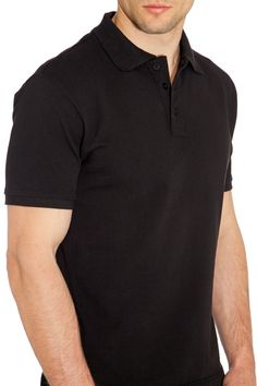 Lusberry Sports Fit POLO - black
