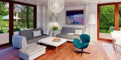Proiect casa mica cu mansarda de 115 mp + fotografii cu interiorul | CasaPost.ro
