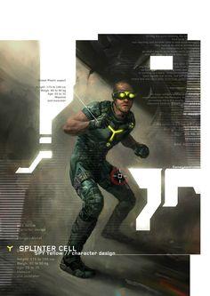 Splinter Cell // Double Agent - Concept Arts - Update3 !!