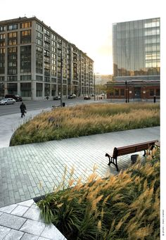 Place des Frères-Charon, Montréal, transformed by Affleck + de la Riva Architects. Click image for details & visit the slowottawa.ca boards  http://www.pinterest.com/slowottawa/
