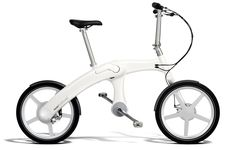 World's First Chainless Folding Electric Bike.   I like the fact that it uses an alternator to generate power for the battery.