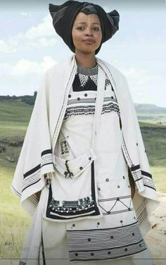 Xhosa Traditional Attires become the perfect choice for African American Women who need to look like a queen in coming occasions. Below are 23 Xhosa Attires. African Wedding Attire, African Attire, African Fashion Dresses, African Wear, African Women, African Dress, African Tribes, African Traditional Dresses, Traditional Wedding Dresses