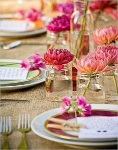 Bientot le printemps idées pour la décoration de votre table decodesign / Décoration