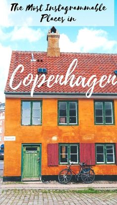 The Most Instagrammable Places in #Copenhagen, Denmark, as selected by a local. Here is your go-to guide for the prettiest places in Copenhagen that will look good on camera. | Nyhavn, Islands Brygge, Christianshavn and many other colorful spots | #Nyhavn, #Oldtown, #Instagram #Denmark