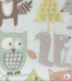 Nursery Fabric Muscat Breeze Fleece