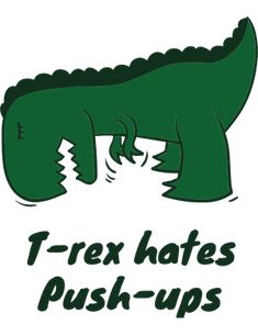 T Rex, Push Up, Clip Art, Shopping, Pictures