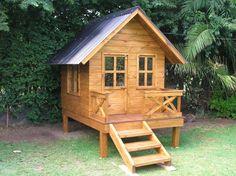 Casita de madera para chicos en madera impregnada  http://www.conkreto.com.ar http://www.facebook.com/conkretowood