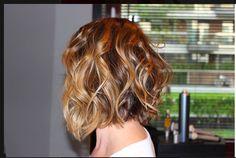 Sombre hair, haircut