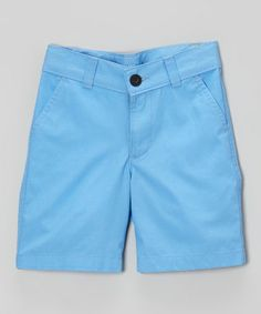 Another great find on #zulily! Wave Run Flat-Front Shorts - Infant by Calvin Klein Jeans #zulilyfinds