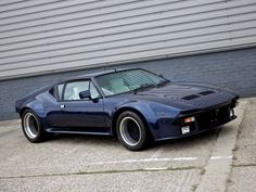 1972 De Tomaso Pantera - one of the all time great cars
