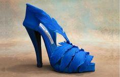 b464df7c961c designer shoe tutorial feather stiletto by Cake Dreams by Iris via Sugar  Delites Shoe Template