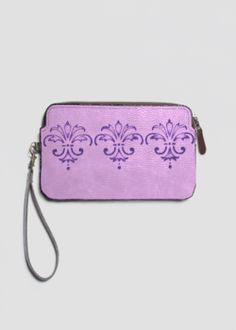 VIDA Leather Statement Clutch - Kay Duncan Serenity OClut by VIDA Bb26fvskBy
