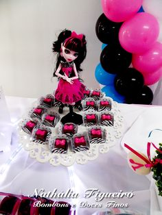 Bombom de nutella Monster High