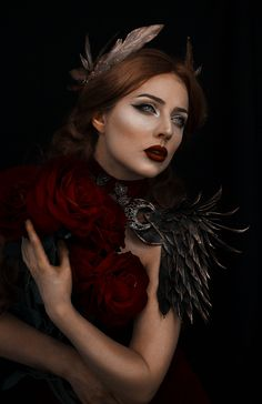 Photographer/Designer/Armor/Crown/Makeup: Fairytas Model: Jolien Rosanne