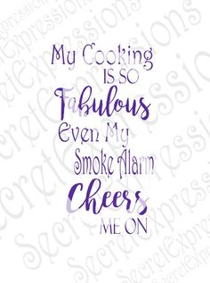 My Cooking Is So Fabulous Svg, Cooking Svg, Kitchen Svg, Digital Sign Cutting File JPEG DXF, SVG Cricut, Svg Silhouette Print File