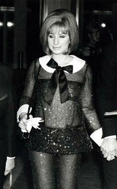 Barbara Streisand in Arnold Scaasi.