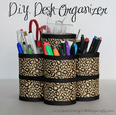 Make It: 7 DIY Desktop Organizers | Curbly