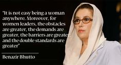 quote from benazir bhutto - Google Search
