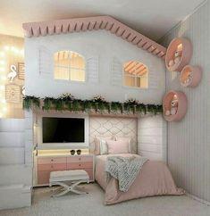 new Ideas for baby girl bedroom themes bunk bed Room Design Bedroom, Kids Bedroom Designs, Cute Bedroom Ideas, Room Ideas Bedroom, Kids Room Design, Awesome Bedrooms, Bedroom Themes, Bedroom Furniture, Modern Furniture