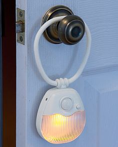 Motion-activated nightlight...I could really use this when I stumble blindly to the bathroom